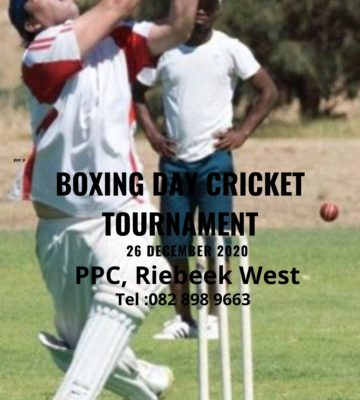 Boxing Day Cricket Tournament