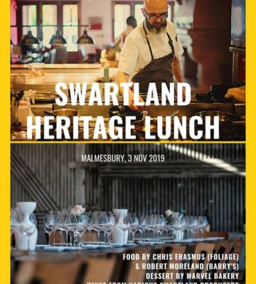 Swartland Heritage Lunch
