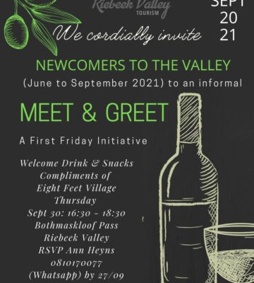 Newcomers to the Valley – Meet & Greet